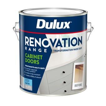 Dulux Renovation Range Cabinet Doors Satin Deep Base 2L