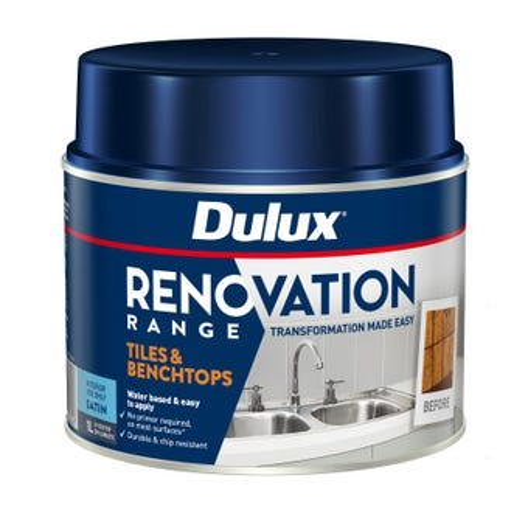 Dulux Renovation Range Tiles & Benchtops Satin Diplomatic 1L
