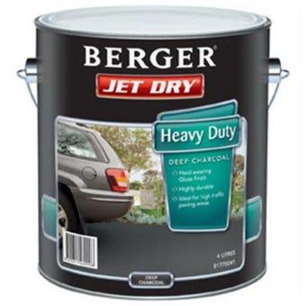 Jetdry Gloss Hd Smoke Grey 4L