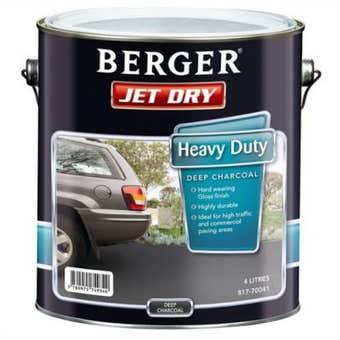 Jetdry Gloss Hd Deep Charcoal 4L