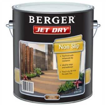 Berger Jet Dry Non Slip 4L Red