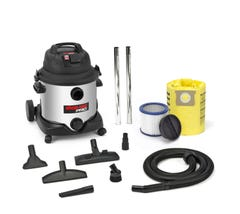 SHOP VAC PRO30L 1400W S/S WET/DRY VACUUM WITH POWER TAKE OFF