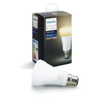 Philips Hue White Ambiance Single 9.5W A60 Globe