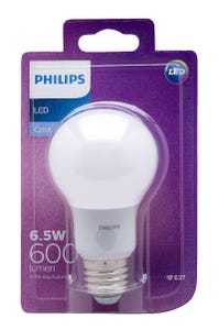 Philips LED Light Globe A60 ES Cool Daylight 6.5W 40W