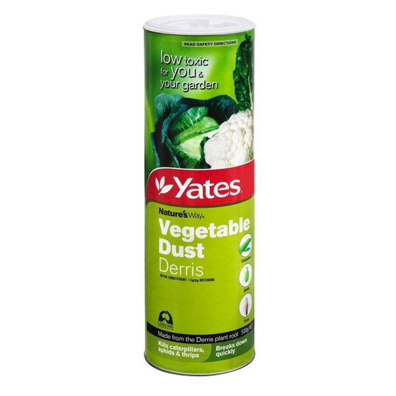 Yates Dust Derris Vegetable Insecticide 500g