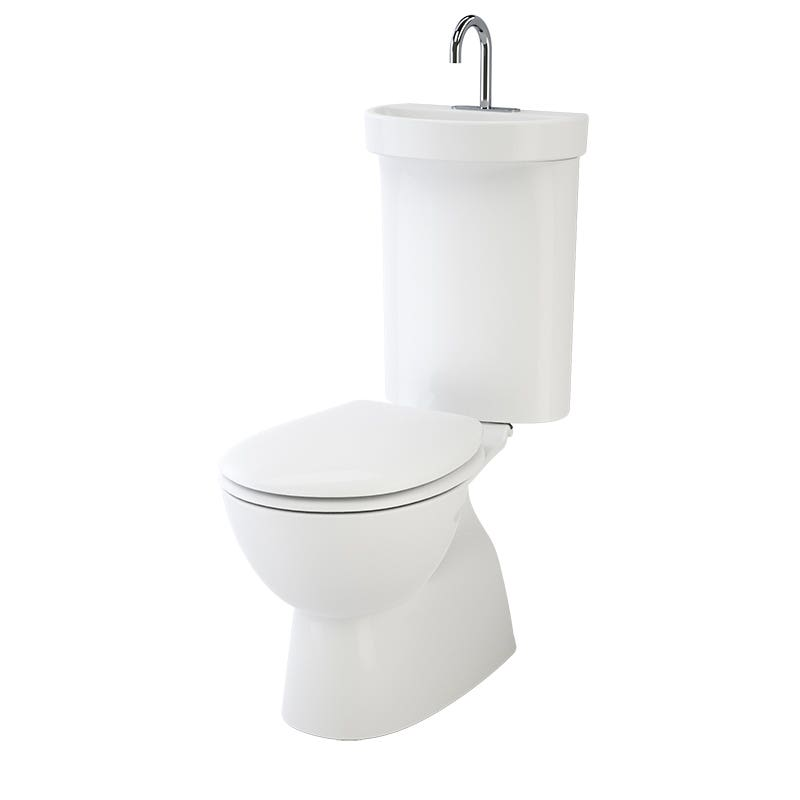Caroma Profile 5 Deluxe Integrated Hand Basin Close Coupled Suite