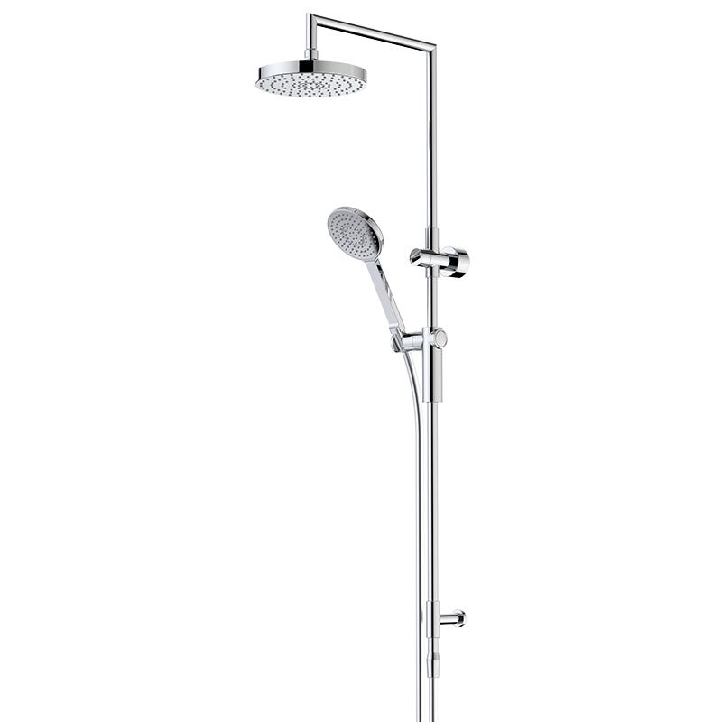Dorf Bliss Rail Shower with Overhead