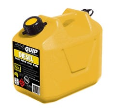 Pro Quip 5 Litre Plastic Fuel Can - Yellow Diesel