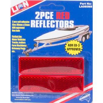 Lion 85 x 22mm Reflectors 2 Piece