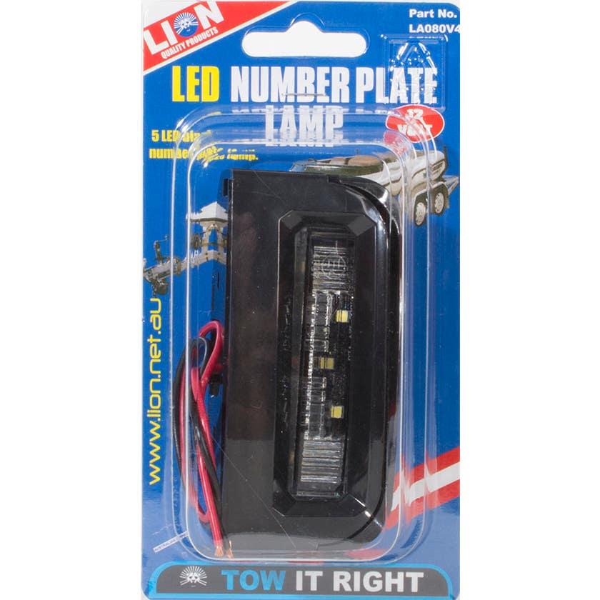 Lion LED Number Plate Light
