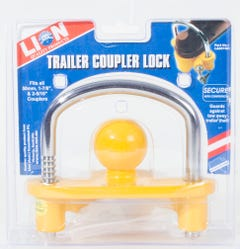 Lion Hi-Vis Trailer Coupier Lock