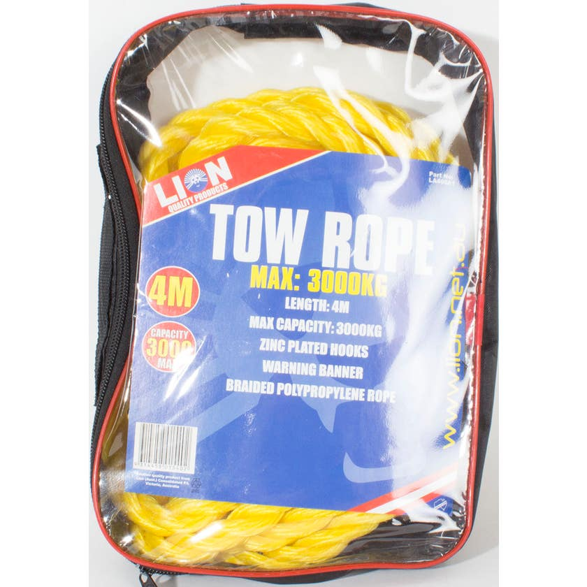 Lion Tow Rope