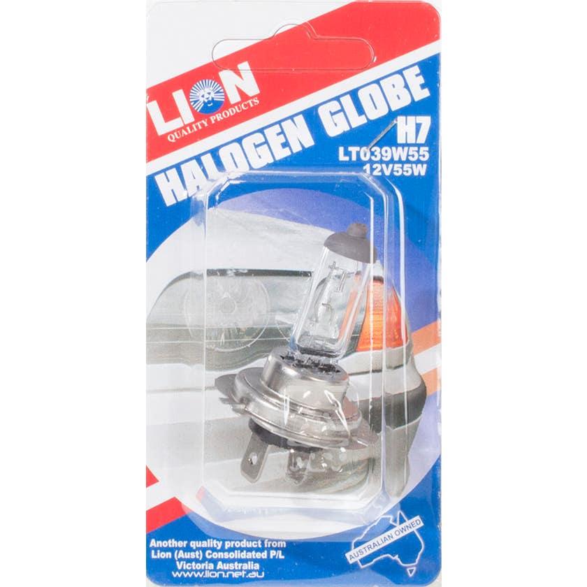 Lion Quartz Halogen Globe