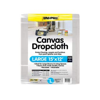 Uni-Pro Canvas Dropcloth 3.6m Wide