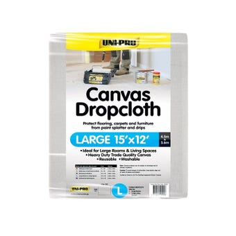 Uni-Pro Canvas Dropcloth 3.6m Wide