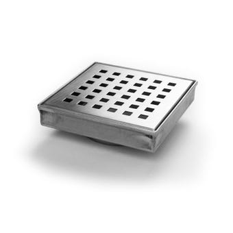 Hayman Stainless Steel Floor Drain Square Cover 110mm