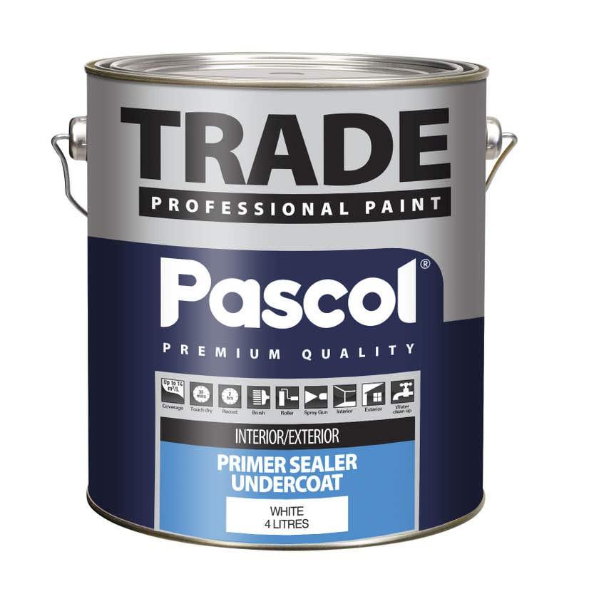Pascol Trade Primer Sealer Undercoat Paint 4L