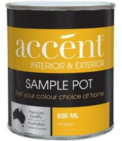 Accent® Interior Low Sheen White 500ml