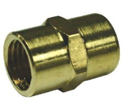 Air Nipple Brass Fitting Hex 1/4X1/4