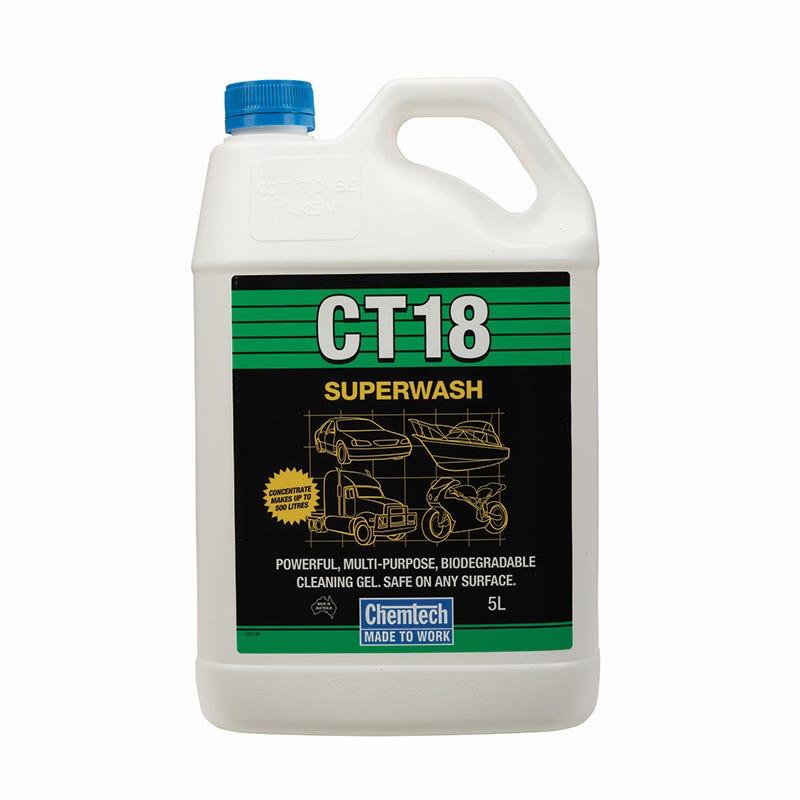 Chemtech Superwash CT18 Cleaner 5L