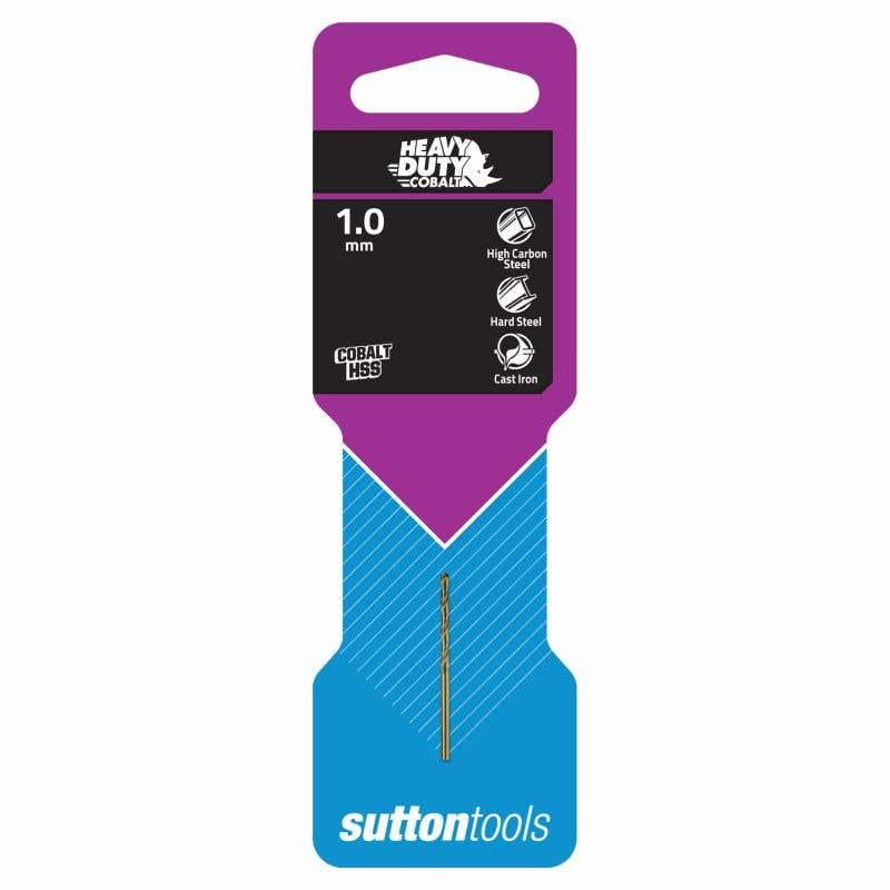 Sutton Tools Heavy Duty Cobalt Jobber Drill Bit Metric