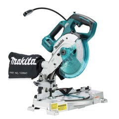 "Makita 18V 165mm (6-1/2"") Compact Brushless Mitre Skin"