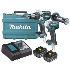 Makita 18V 5.0Ah 2 Piece Brushless Combo Kit