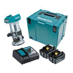 Makita 18V Brushless Laminate Trimmer Kit