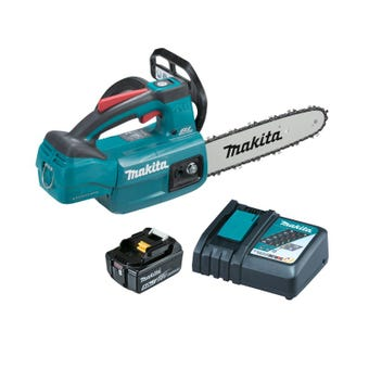 "Makita 18V Brushless 250mm 10"" Chainsaw Kit DUC254RT"