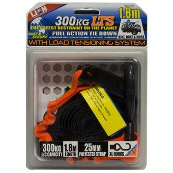 Lion LTS 25mm x 1.8m Pull Tie Down