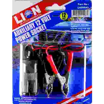 Lion Cigarette Auxiliary Socket with Clamps
