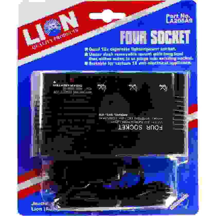 Lion Quad Cigarette Lighter Power Board