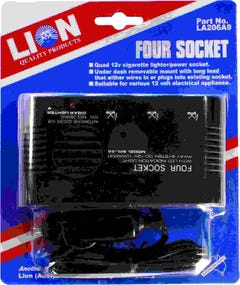 Lion Quad Cigarette Lighter Power Board