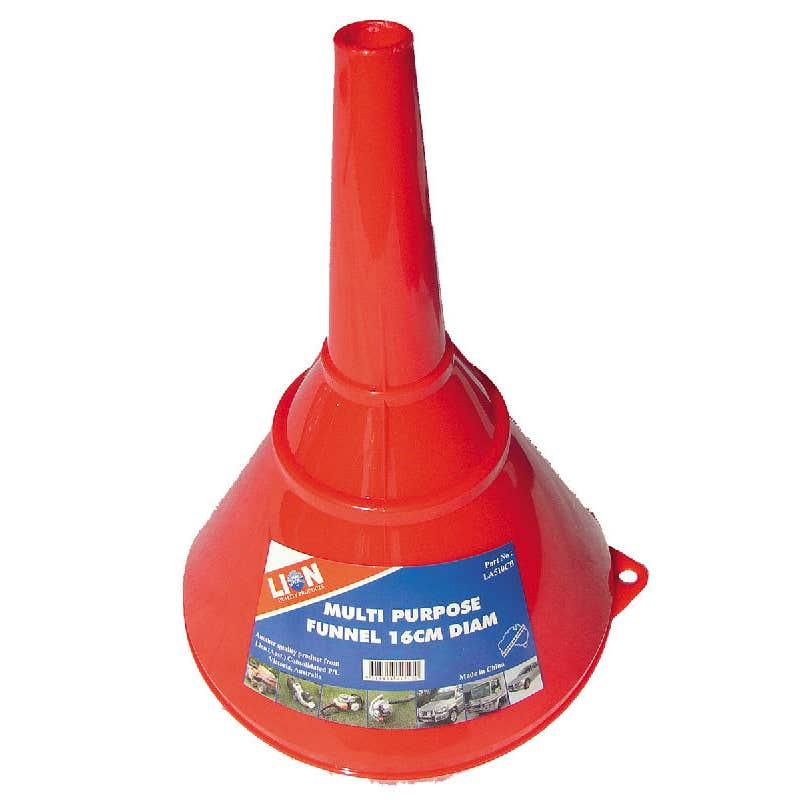 Lion 18cm Plastic Funnel
