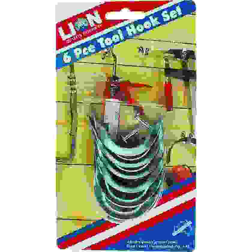 Tool Hanger Small 6Pce Lion