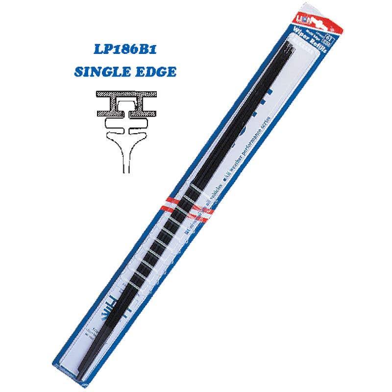 Lion 2 Piece 51cm x 6mm Single Edge Wiper Blades