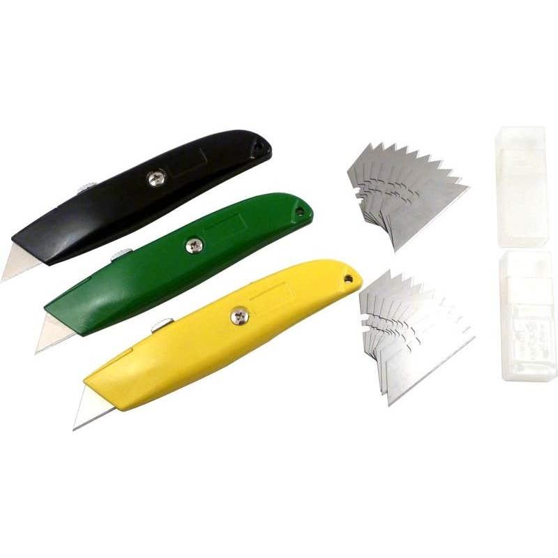 Retractable Trimming Knife Set