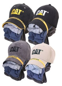 CAT Cap & Sock Bundle Size 9-12