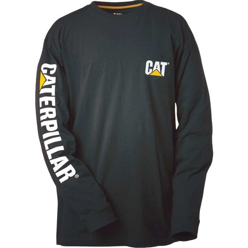 CAT Trademark Banner Long Sleeve T-Shirt