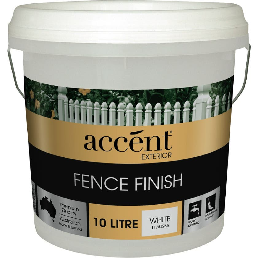 Accent® Fence Finish White 10L