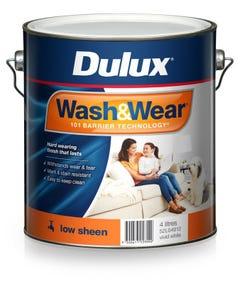 Dulux Wash & Wear 4L Low Sheen