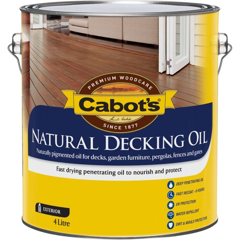 Cabot's Decking Oil