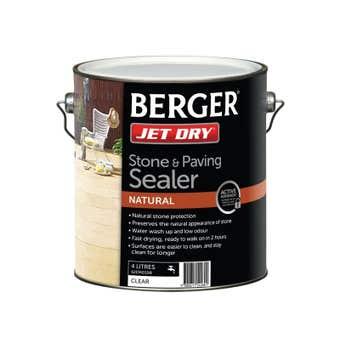 Berger Jet Dry Stone & Paver Sealer Natural 4L