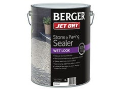Berger Jet Dry Stone & Paver Sealer Wet Look 10L