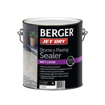 Berger Jet Dry Stone & Paver Sealer 4L