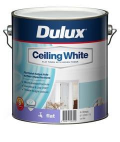Dulux Ceiling White 4L