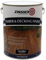 Zinsser Timber & Deck Finish Natural Gloss 10L
