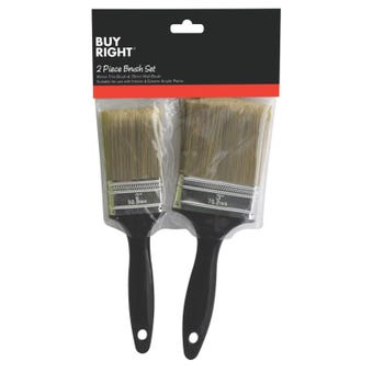 Buy Right® Paint Brush Set Pack of 2
