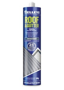 Selleys 300g Roof & Gutter Silicone Sealant Ironstone