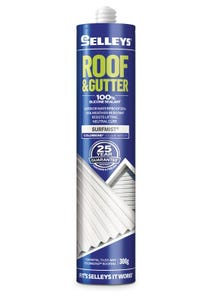 Selleys 300g Roof & Gutter Silicone Sealant Surfmist